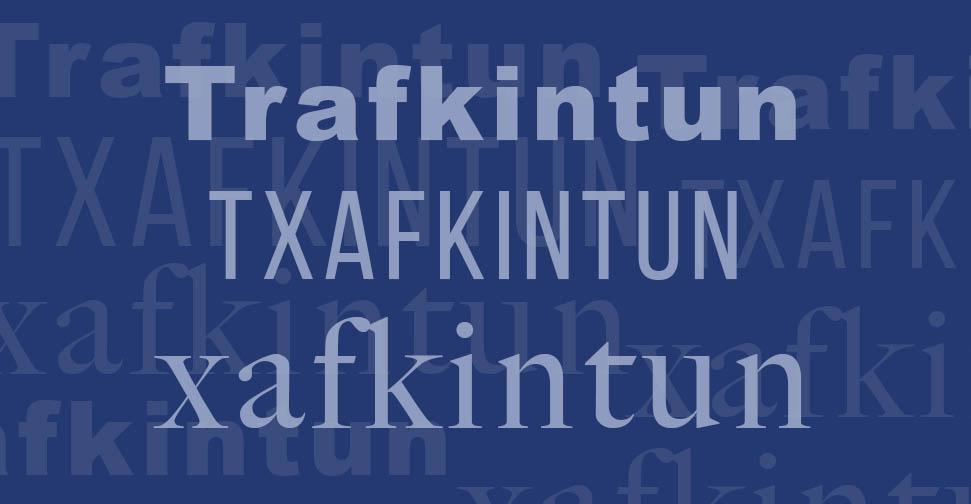 Trafkintun, txafkintun, xafkintun, ¿cómo se escribe?